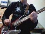 petit solo improvisé -impro solo guitar guitare
