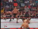 WWF Raw 2002 - The Rock & Stone Cold Steve Austin Vs Nwo Kev