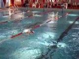 Coupe départementale Poussins 50m dos Amandine
