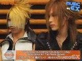 The GazettE - Interview (Reita and Uruha)