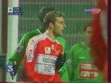 Saint Etienne - Beauvais : 1-2 (0-1). Saison 2001-2002.