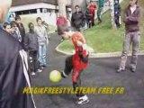 Demo Match ELA Freestyle Football