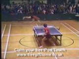 Crazy Ping Pong Players FUNNY