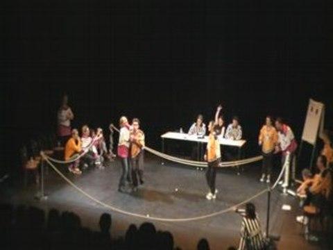 Improvisation théatrale : A l'Improv'istres Vs LIMA Angers