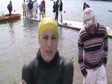 Interview de Leïla Bonichon - Antibes 2008 - Finswimming