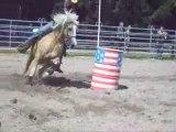 Sandra et popeye barrel racing (obersoultzbach)