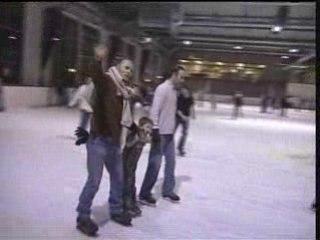 Soirée patinage à l'ile Lacroix