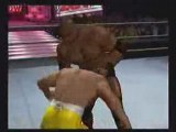 Bobby Lashley vs. Sabu - ECW Extreme Rules - SvR 08 (PS2)