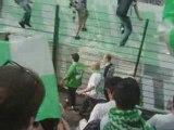 asse-lille début du match drapreau green angels 2