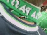 asse-lille début du match drapeaux green angels 3