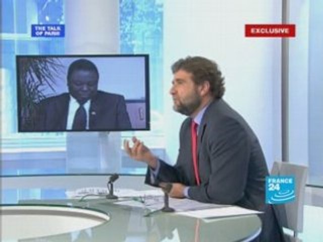 Zimbabwe opposition's Morgan Tsvangirai