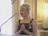 Kylie chevalier dans l'ordre des Arts et des Lettres AFP