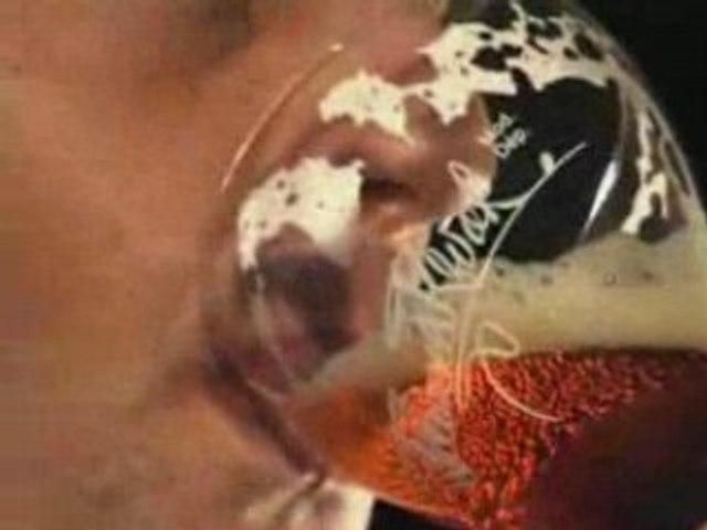 Bière kwak et son verre