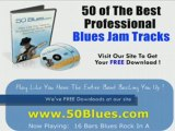 16 Bar Blues Rock Backing Tracks for Guitar - Lessons