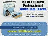 Blues Jazz Groove Backing Tracks -For Guitar,Harmonica,Harp