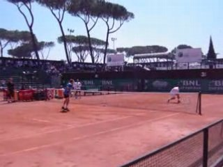 Entrainement Roddick Rome 7Mai