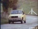 Publicité Renault 14  (la voiture poire)