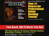 Rock & Heavy Metal Guitar Jam Backing Tracks -Lessons