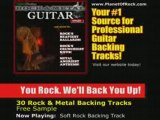 Soft Rock & Metal Guitar Backing Tracks -Lessons Solo Riffs