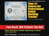 Jimi Hendrix All Along The Watchtower Guitar Backing Track