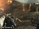 Gears Of War VS Gears Of War II Comparaison XBox 360