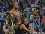 Joey Mercury & Melina vs. Booker T & Sharmell (8.18.05 SD)