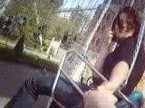 Walibi Dans les balançoire avec Ashley le 10 Mai 2008