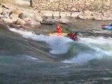 Crazy kayak