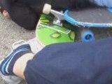 temponnage en skate ^^