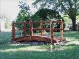 Landscape bridges redwood garden lanscape bridges