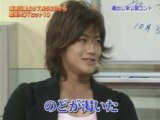 akanishi jin  Casting skit [2005.10.22]