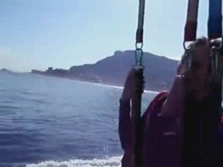 Laure Manaudou : parachute ascensionnel