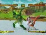 DBZ BURST LIMIT, Cell vs Freezer (gameplay).