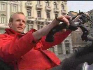 interview Raid Paris Calcutta en italie 02/2008 - antenna3