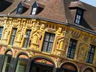 Le vieux Lille au travers ses façades