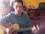 Guitare Sébastien  Bruel Mon amant de saint Jean