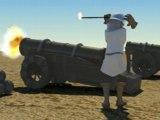 Cannon tir effets spéciaux
