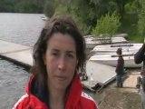 Interview de Marine Grosjean - Antibes 2008 - Finswimming -3