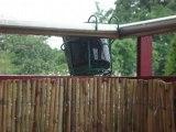 Tentatives de récupération d'eau de pluie...