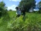 derriere la coline (Ca, Béa et moi/ Nouch qui film)
