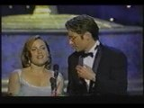 David Duchovny and Gillian Anderson Emmys 1997 funny moment