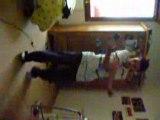 Mwa entrain de dansé l'électrodance