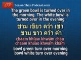 Learn Thai Lesson: Pronunciation - Tongue Twisters