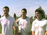 Le trio bigourdan du TPR (Tarbes Pyrénées Rugby