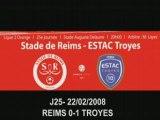 2007 Ligue 2 J25 REIMS TROYES 0-1 ,le 22 février 2008