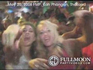 Full Moon Party Videos - May 2008 - Koh Phangan Thailand