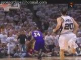 NBA Kobe Bryant scored a team-high 28  10 rebound