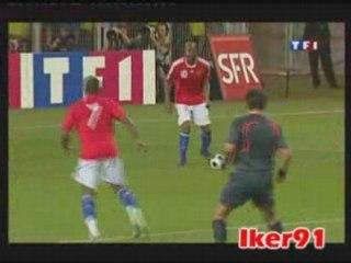 video match France vs Equateur : video buts Gomis