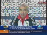 Euro 2008:  la liste des 23 de Domenech 28/05/08