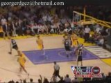 NBA Kobe Bryant scored 17 of his 39 points o end the Spurs